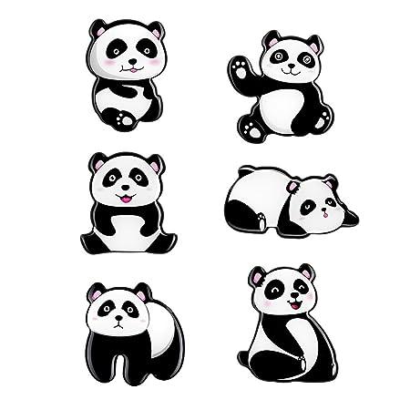 M MORCART Imanes Nevera de Panda Lindo 6pcs Buen Regalo para Niños ...