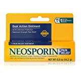Neosporin XiBKlr plus Pain Relief Dual Action Ointment, 0.5 Ounce (2 Pack)