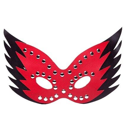 HYSMJ Máscaras Máscara Decorativa Creativa De La Máscara del Gato De Halloween B