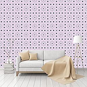 Magician Hat And Magic Wand Patterned Pepasted Smooth Commercial Wallpaper  By CustomWallpaper.com