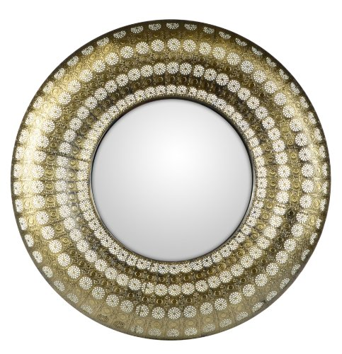 Mirror Luminous Lace Collection Gold Round