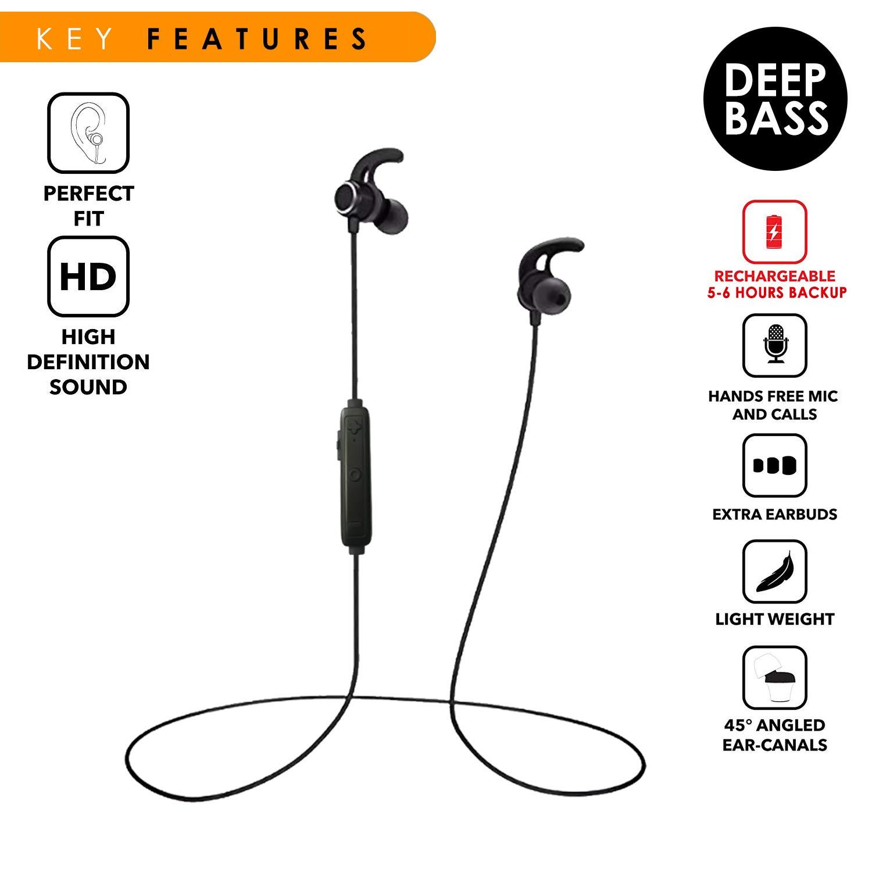 a357fcb0acb Freesolo S11 in Ear High Bass Wireless Bluetooth: Amazon.in: Electronics
