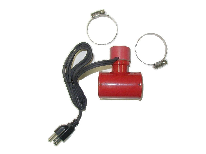 Kat's 14500 600 Watt 1 1/4' Lower Radiator Hose Heater KAT' S