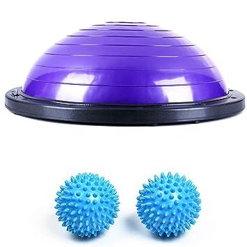 Pelota de yoga semicircular, bola de equilibrio semicircular ...