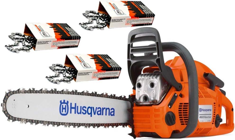 3. Husqvarna 460 Rancher (60cc) Chainsaw With 24