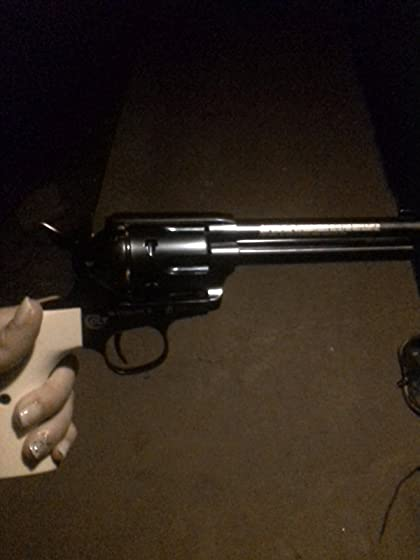 Umarex Colt Peacemaker Revolver Single Action Army Six-Shooter .177 Caliber Air Pistol I'm Your Huckleberry.