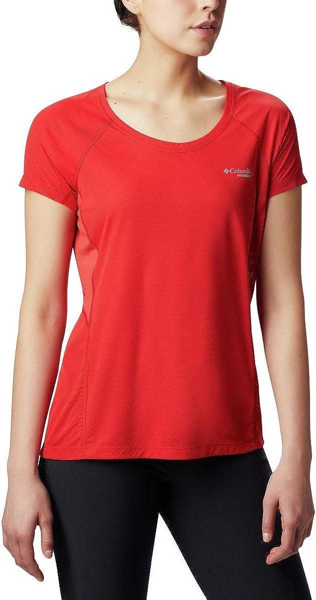 Columbia Women's Titan Ultra II Short Sleeve Shirt, Antimicrobial, Moisture Wicking Fabric