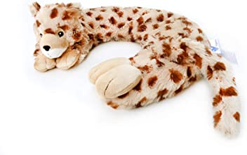 Huggaroo Cheetah Neck Wrap and Weighted Lap Pad
