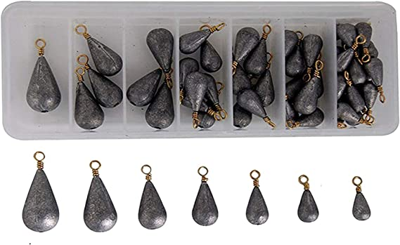 8 oz Bank Bell Sinkers 6//20//50//80//130 fishing weights FREE SHIPPING