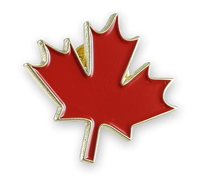 e5d8dc0ecab Amazon.com  Canadian Maple Leaf Canada Lapel Pin- 1 Piece  Jewelry