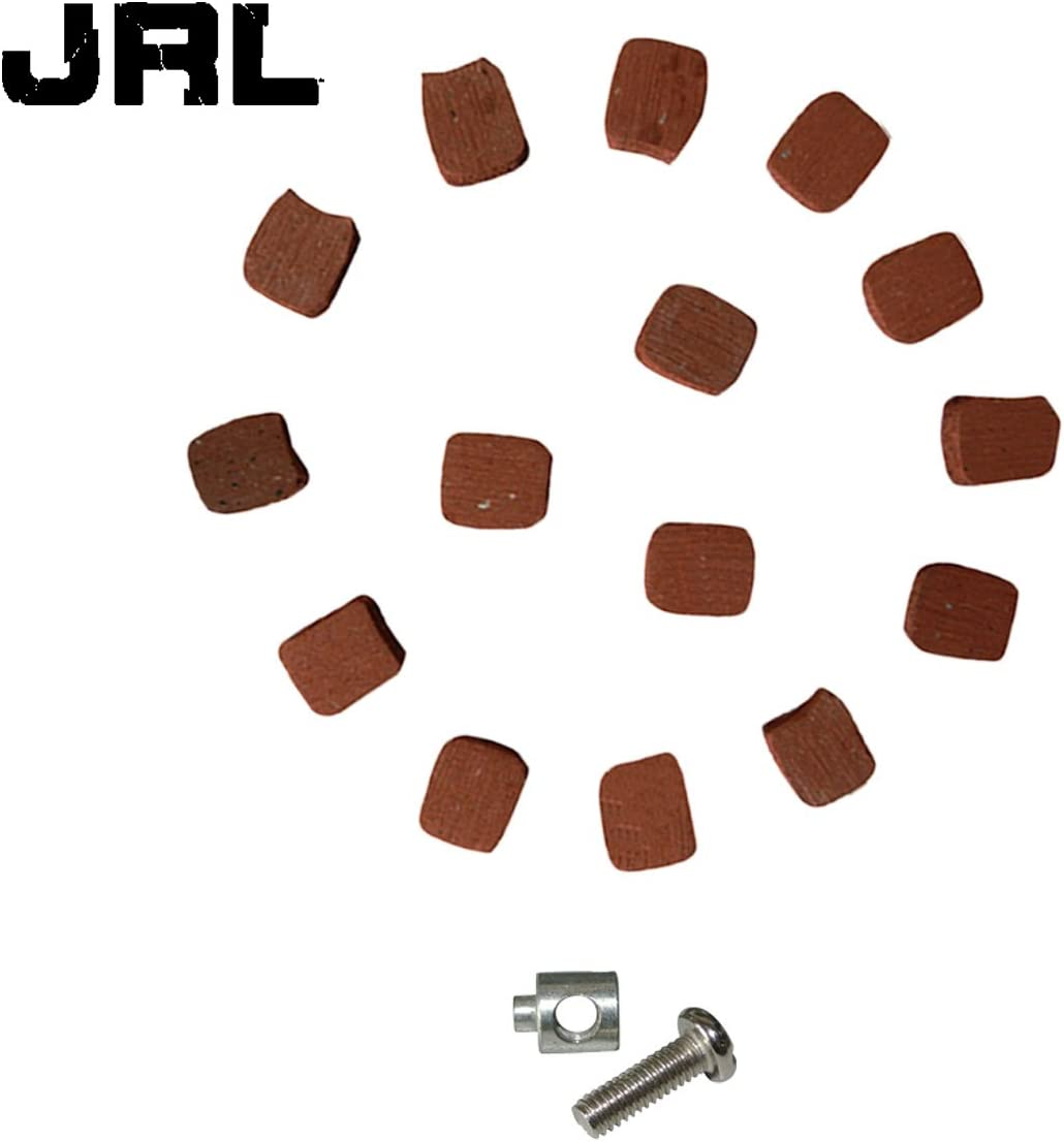 JRL 15xSquare Clutch Pads/&Clutch Cable Lock For 49cc 66cc 80cc Engine Bicycle Bike
