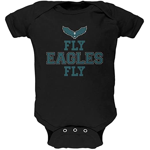 Amazon.com  Fly Eagles Fly Soft Baby One Piece  Clothing 5c20c221d