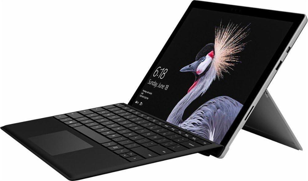 Microsoft Surface Pro 12.3 inches Tablet PC Intel Core M3-7Y30 Processor, 4GB RAM, 128GB SSD, WIFI, Windows 10 Pro, Silver (Renewed)