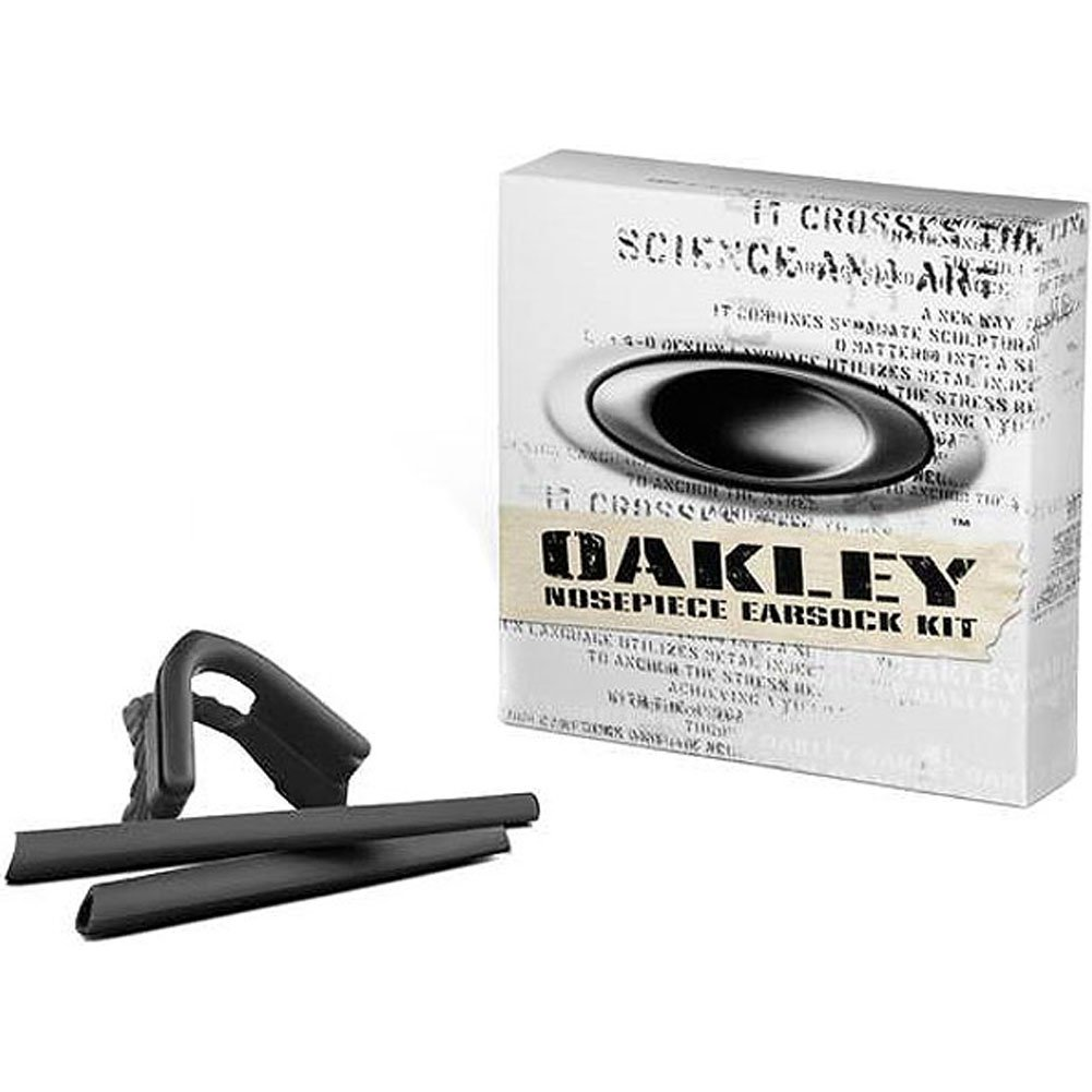Oakley Pro M Earsock and Nosepiece Kit Sunglass Accessories - Black/One Size by Oakley