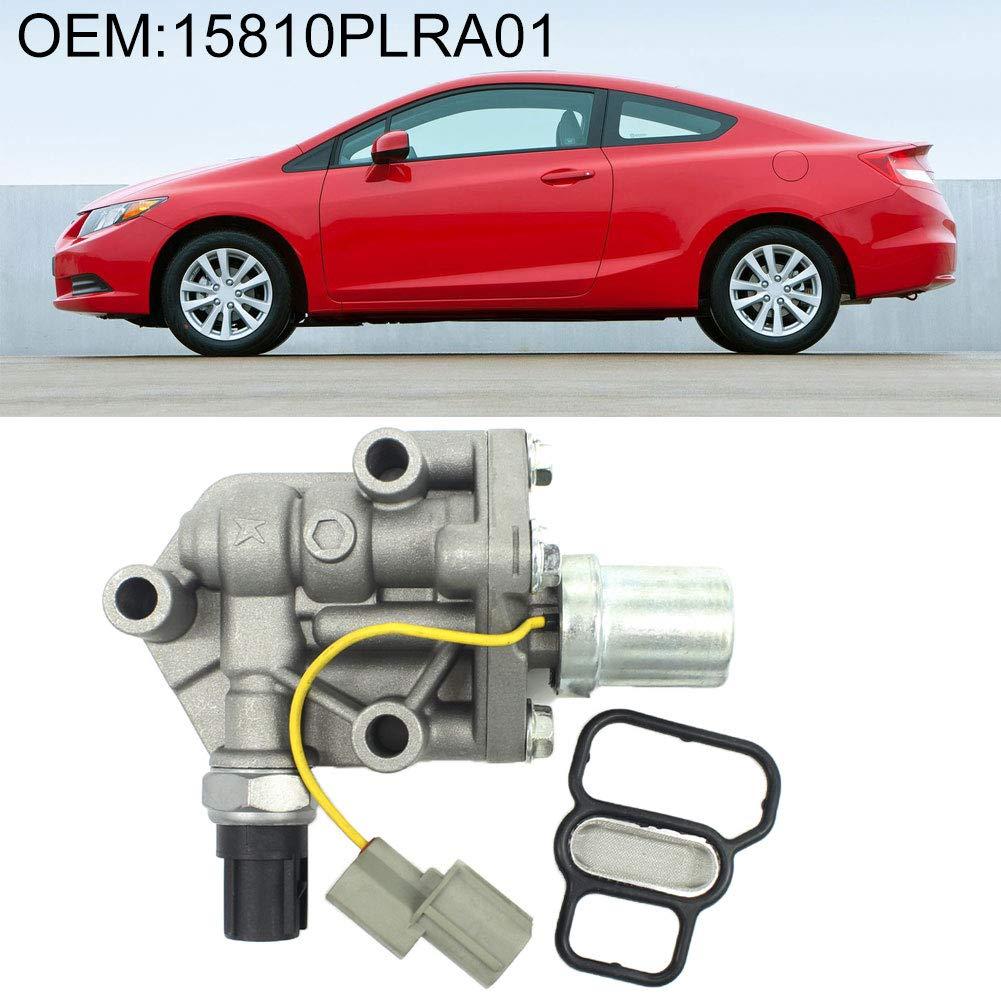 Shentesel Solenoid Spool Valve Replacement for Honda Civic 1.7L 2001-2005 15810PLRA01 by Shentesel
