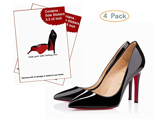 Goldblue Sole Sticker Crystal Clear Sole Protector For Christian Louboutin Heels Removable Sole Protectors