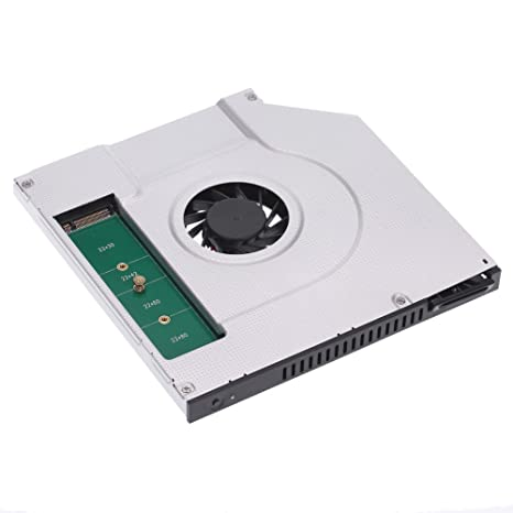 E-More 2 nd SATA SSD HDD Disco Duro Caddy Adaptador 6.0 Gbps con ...