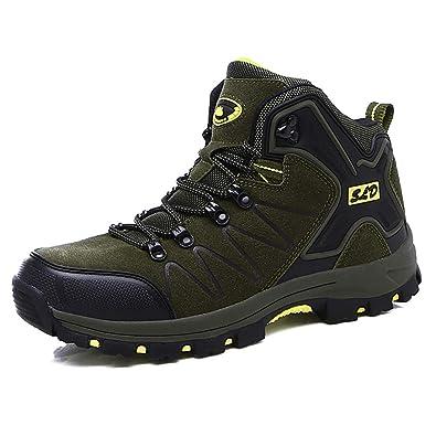Easondea Zapatillas de Trekking para Hombres Mujeres Zapatillas de Senderismo Unisex Botas de Montaña Antideslizantes AL Aire Libre Zapatillas de Deporte: ...