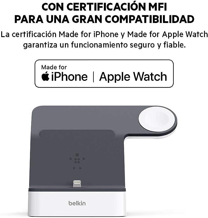 Belkin PowerHouse, base de carga para Apple Watch + iPhone ...
