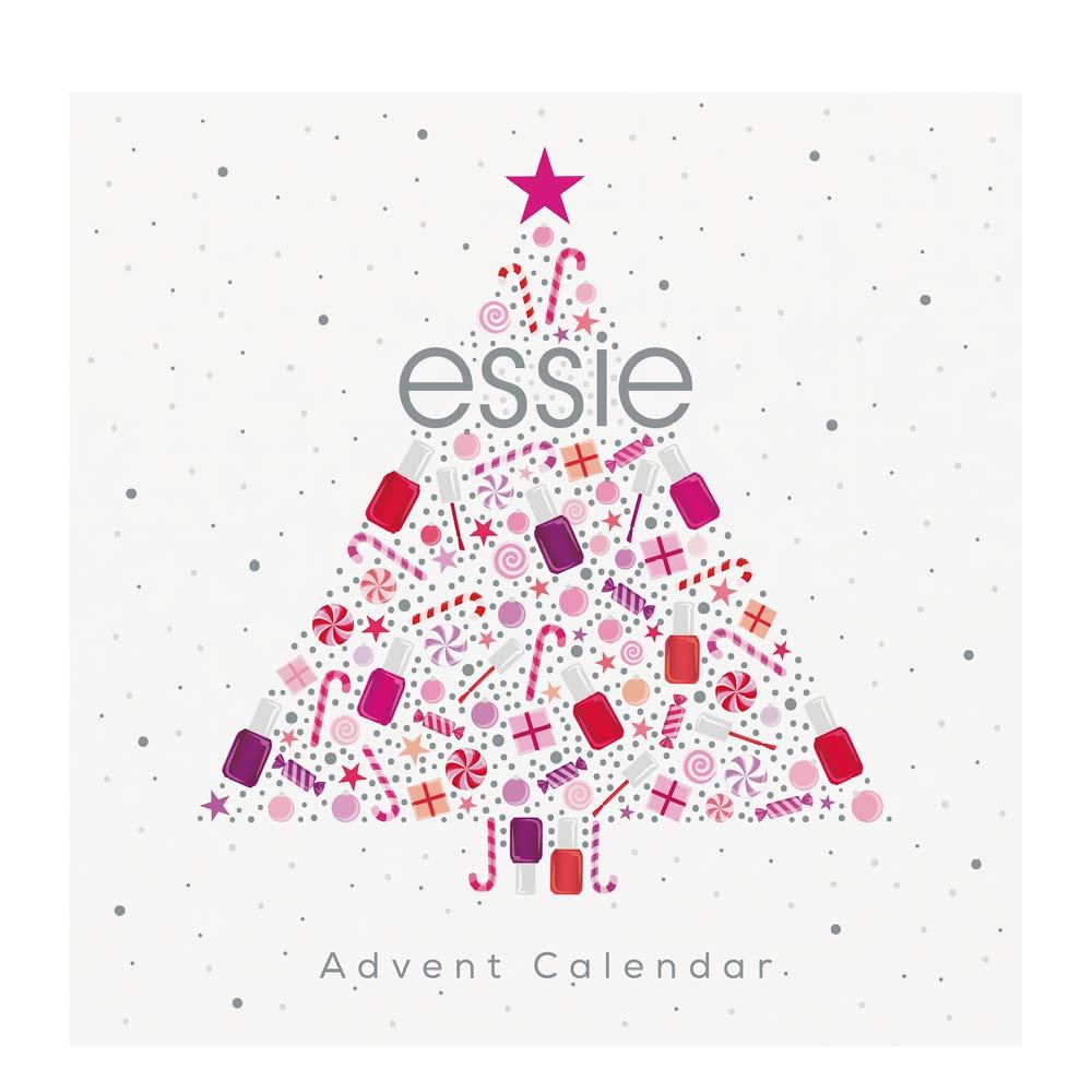 Essie Collezione in Edizione Limitata Natale Idea Regalo Calendario Dell'Avvento, 24 Sorprese Firmate Essie, Risultato Professionale B31359