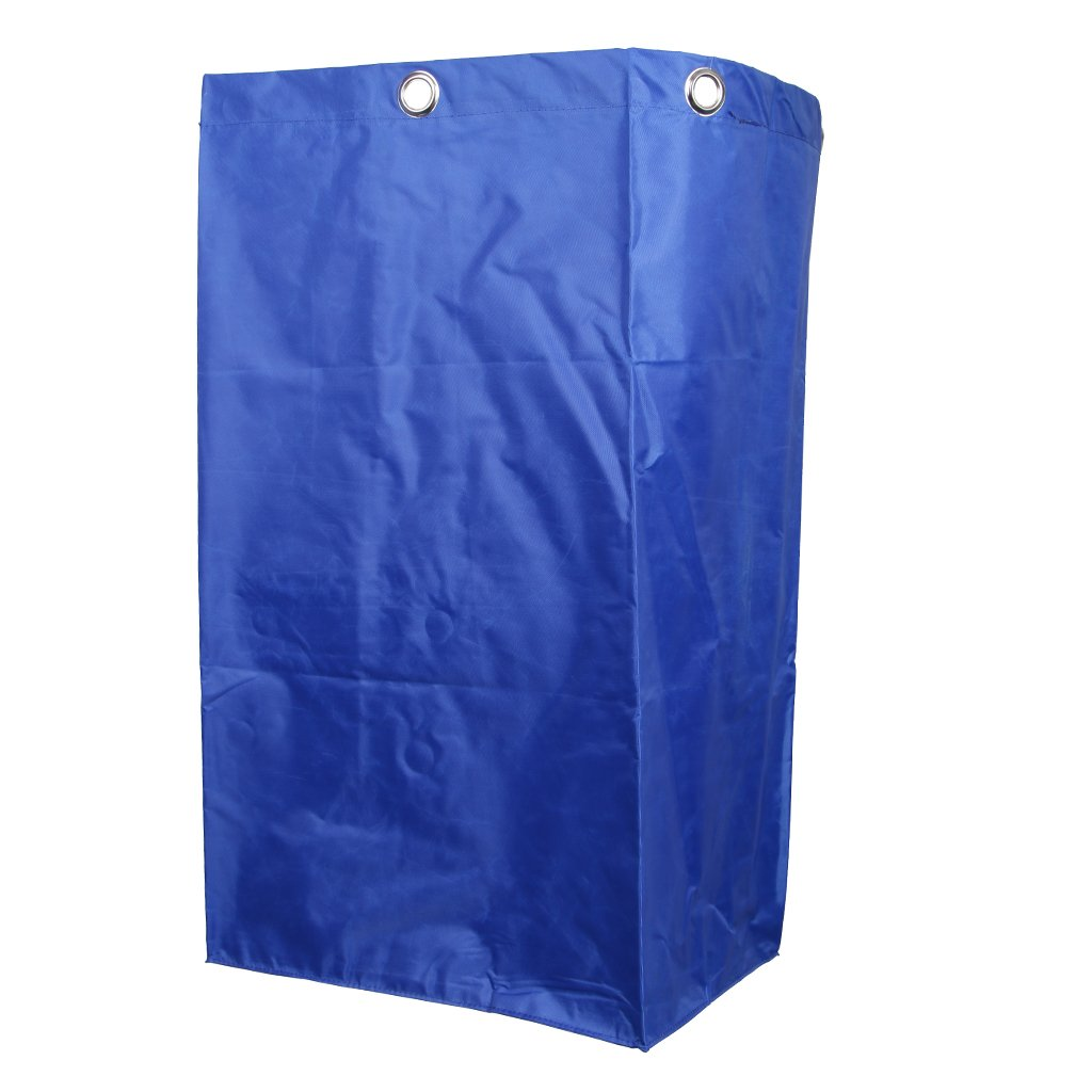 Baoblaze Cleaning Storage Bag for Commercial Housekeeping Cart Janitorial Cart Blue