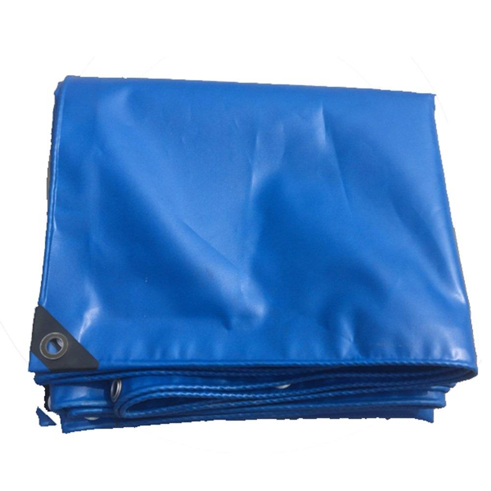 JIANFEI オーニング 防水耐寒性日焼け止め剥がれない退色しないPVC厚さ0.32mmカスタマイズ可能 (色 : Blue, サイズ さいず : 2.8x3.8m) B07FYJ4FCZ 2.8x3.8m|Blue Blue 2.8x3.8m