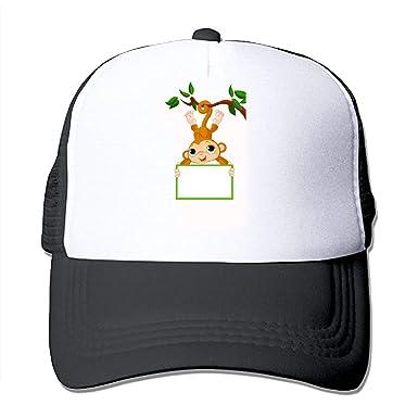 Amazon.com  TZKDHCA Monkey Fun Men Women s Hats 8aff0e00e0b
