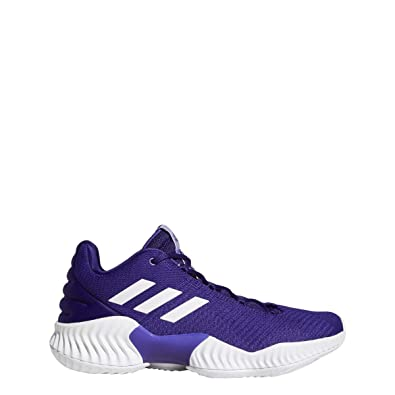 6b35d9f60c654 adidas Pro Bounce 2018 Low Shoe - Men s Basketball 8 Regal Purple White