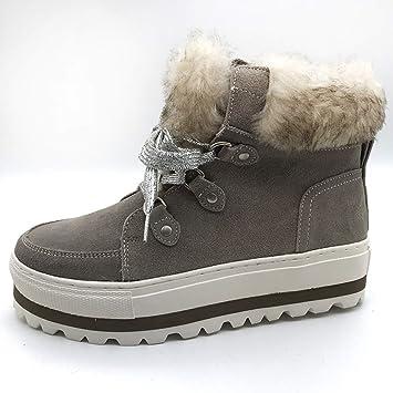 Snow Boots Winter Plus Velvet High-top Women/'s Shoes Waterproof Women/'s Sneaker