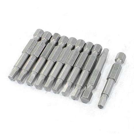 Piezas de repuesto 4 mm Adaptadores hexagonales para taladro 50 mm ...