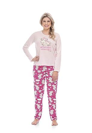 ff79dd93c Pijama Blusa E Calça Meia Malha Mãe E Filha Quimby  Amazon.com.br ...