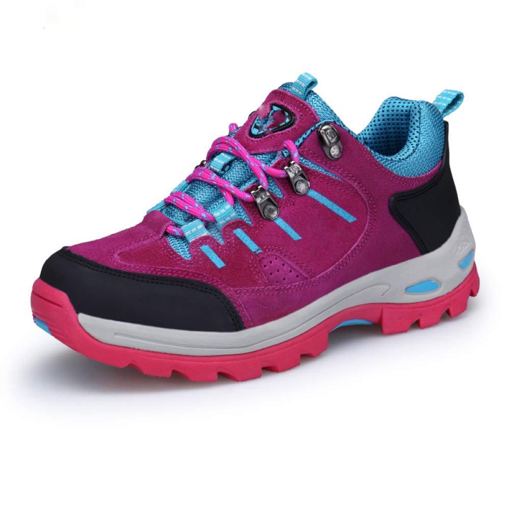 QLX Paar Schuhe Herbst Outdoor-Schuhe Wanderschuhe Frauen Wasserdichte Wanderschuhe Wanderschuhe Wanderschuhe Rutschfeste Schuhe Turnschuhe Herrenschuhe 5af8f6