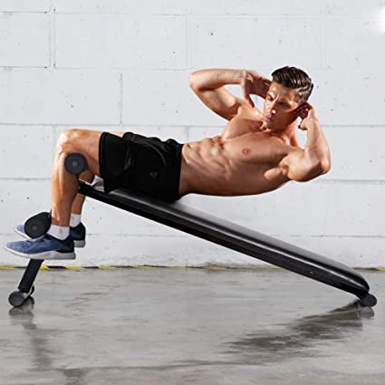 Adjustable Foldable Sit Up Bench Equipment Fitness Workout Home Gym Exercise