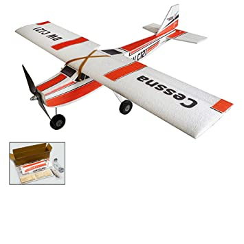 DW Hobby Cessna RC Aeroplane, 960mm EPP Foam Glider Plane Model Kit to  Build, 4CH Remote Control Radio Controlled Airplane Toys for Adults