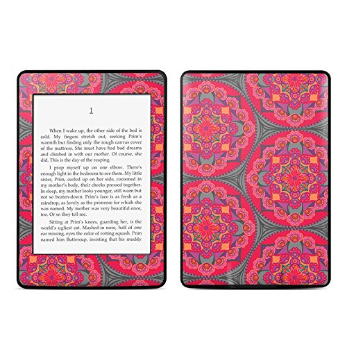 Ruby Salon Design Protective Decal Skin Sticker for Amazon Kindle Paperwhite eBook Reader (2-point Multi-touch)