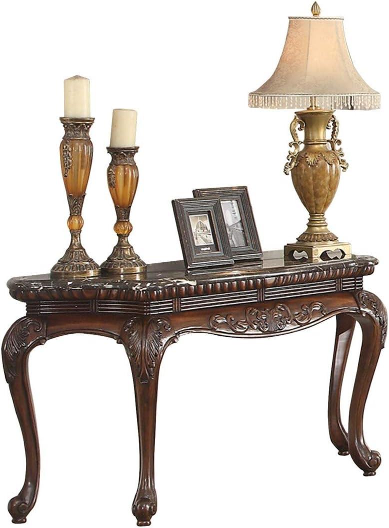 Homelegance HO- Mariacarla Sofa Table, Cherry