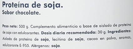 Clarou Proteína de Soja, Sabor a Chocolate - 500 gr