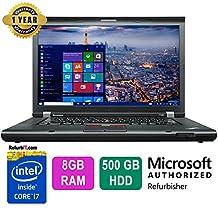"Lenovo ThinkPad T530, 15.6"" Display, Intel Core i7, 8GB RAM, 500GB HDD"