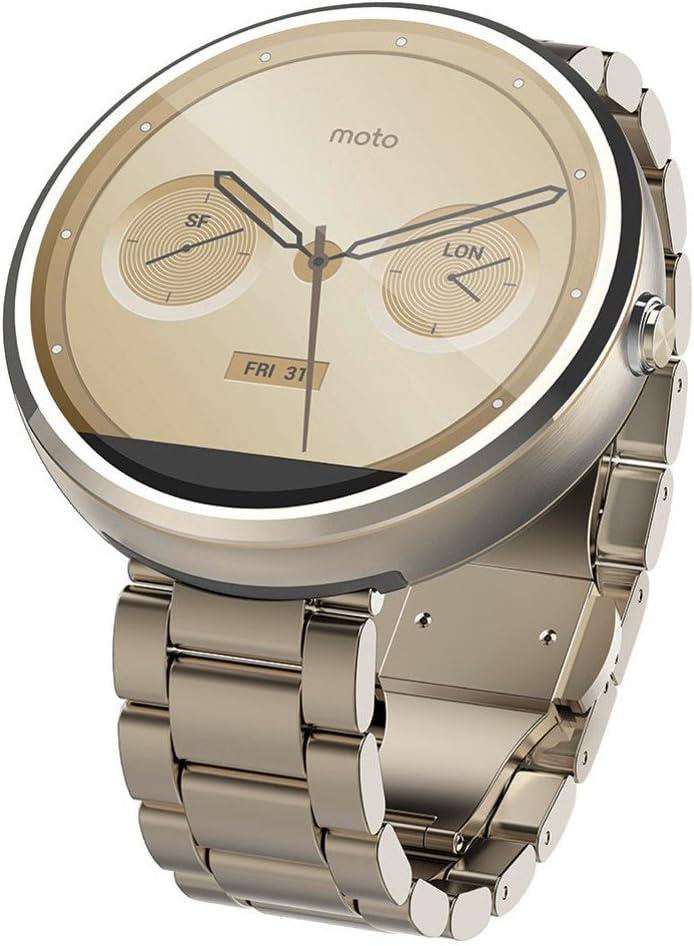 Smartwatch Motorola Moto 360 Metal Edition: Amazon.es: Electrónica