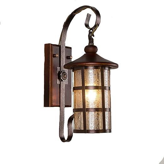 Lámpara de pared Vintage Iluminación de Estilo Industrial Alambre ...
