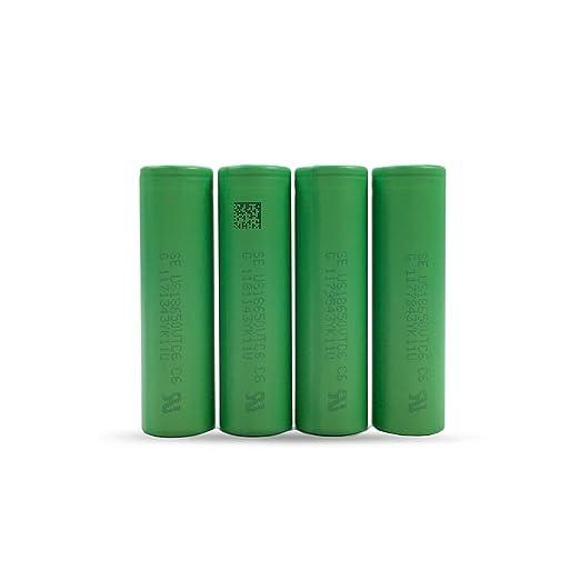 11 opinioni per Sony- 4 Batterie VTC6Konion US18650VTC6, (3120mAh / 3,6 V / 30A / Ioni di