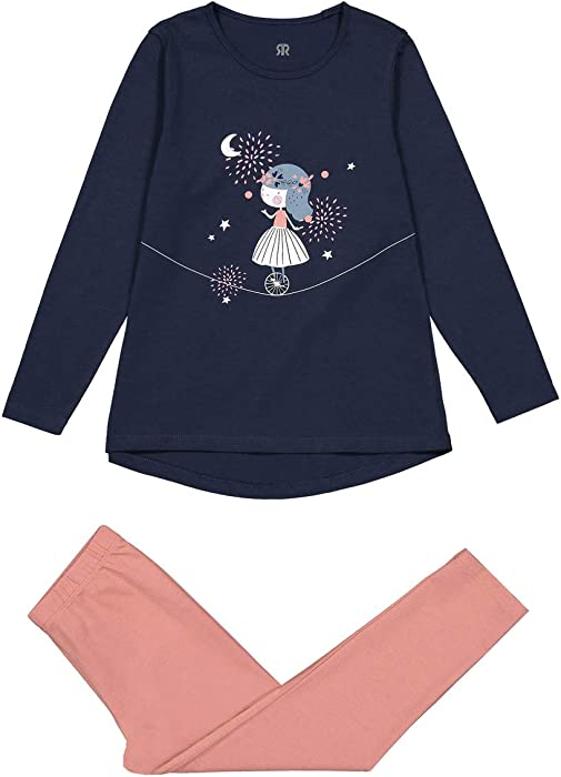 37 in. La Redoute Collections Big Girls Trousers 3-12 Years Blue Size 3 Years