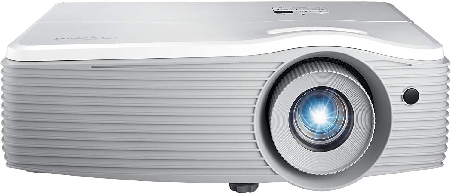 Optoma EH512 1080P WUXGA Support Business Projector with High Brightness 5,000 Lumens, LAN Display, PC-Free Projection, Vertical Lens Shift, Keystone Correction, 1.6X Zoom