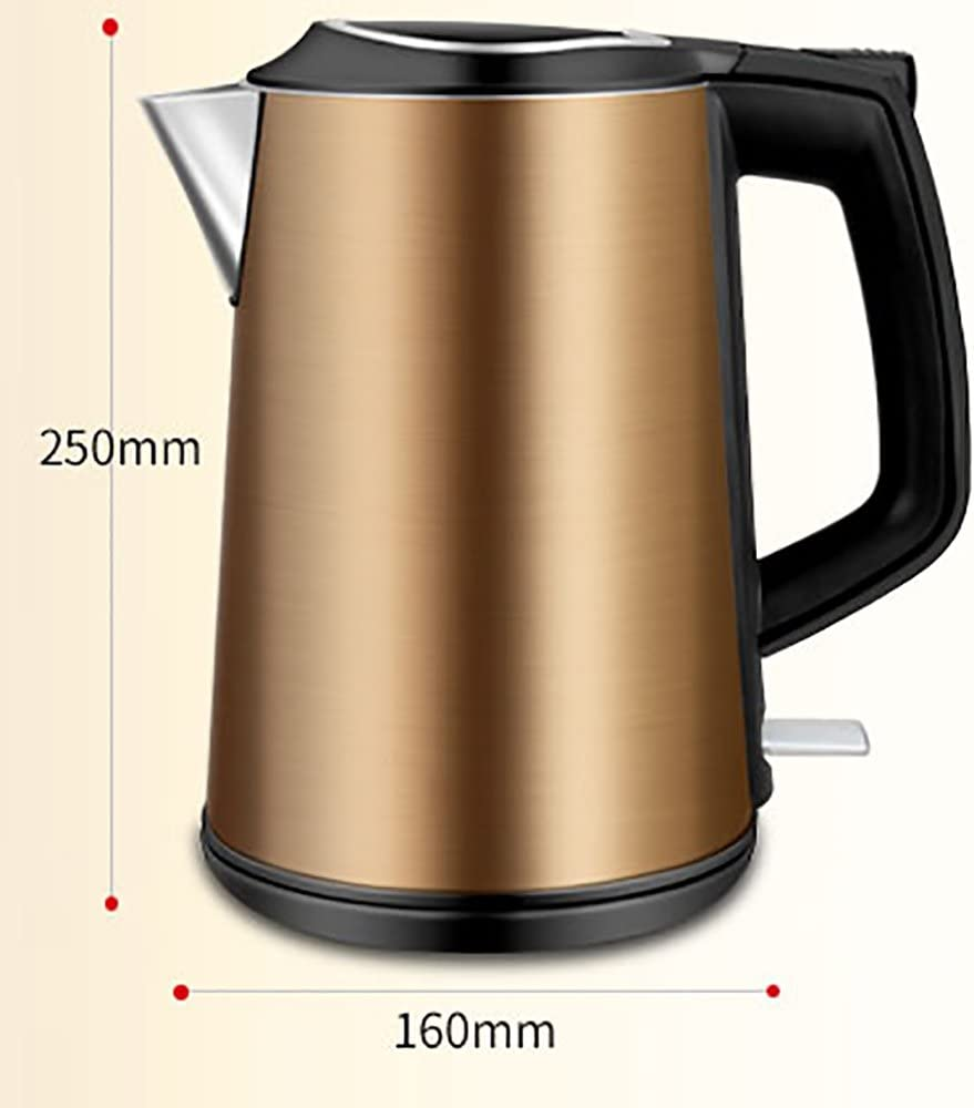 CAICOLORFUL Yellow Electric Kettle 304