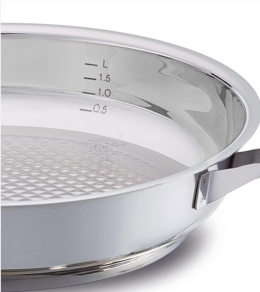 Fissler 12140028100 Crispy steelux Premium - Sartén (28 cm): Amazon.es: Hogar