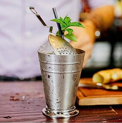 Vaso de acero inoxidable de 300 ml, diseño vintage de julep ...