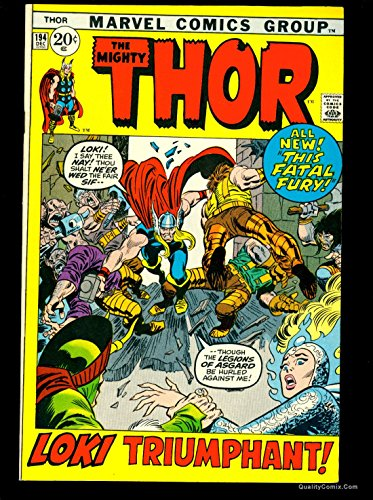 Thor #194 NM- 9.2 Tongie Farm Collection Pedigree