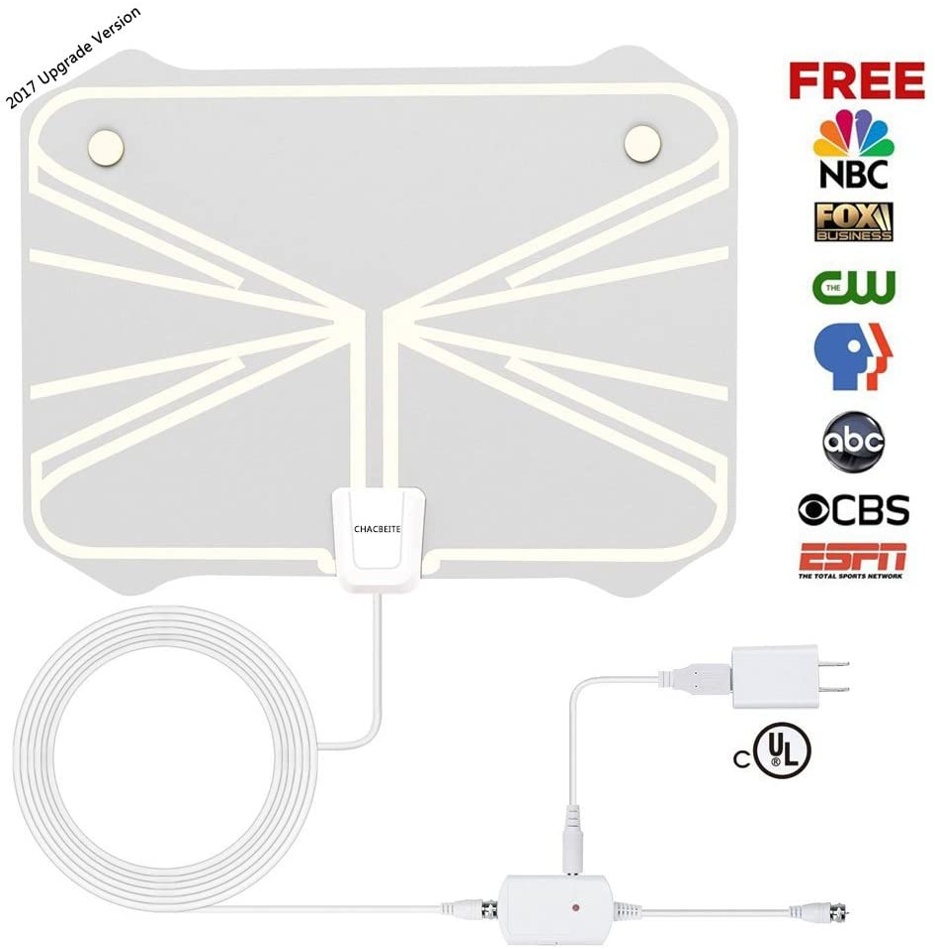 TV Antena interior 50 Millas DVB-T/DVB-T2 fortalece HD TV Antena Antena Digital con extraíble Amplificador satélite DVB-T2 Antena: Amazon.es: Electrónica
