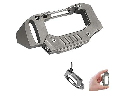 MecArmy FL10 360 lúmenes TC4 Titanio USB llavero linterna ...