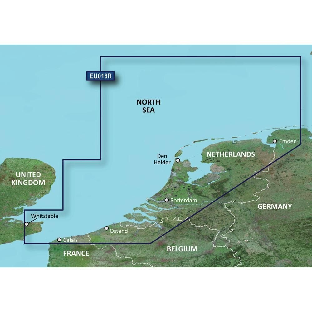 Garmin Bluechart G2 HXEU018R The Netherlands Micro SD & SD - Detailed Coverage by Sirimaya
